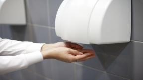 Electric Hand Dryers in  Restrooms Aren't as Clean as You Think