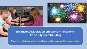Celebrate the Fourth of July by Teambuilding