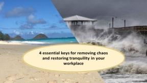 4 Keys to eliminating disruptive behavior