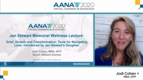 Jan Stewart Memorial Wellness Lecture Grief, Growth and Transformation: Tools for Navigating Loss