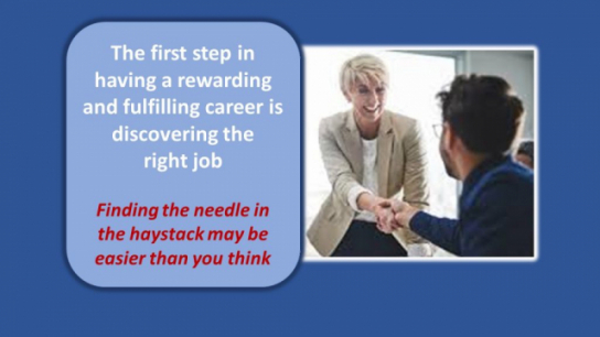 Discover the right job