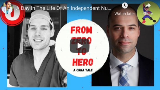 Watch a day in the life of an independent nurse anesthetist