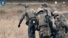Honoring Military CRNAs on Vietnam War Veterans Day