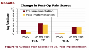 Reducing Pain Scores and Opioid Consumption After Total Knee & Hip Arthroplasty: A Ketamine Infusion Protocol